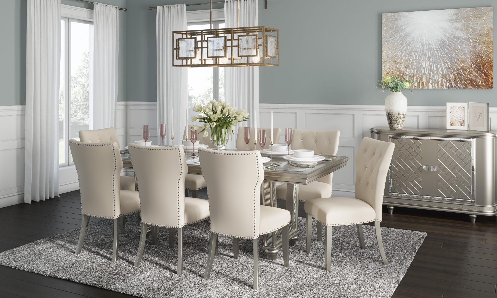 Stylowe meble stołowe